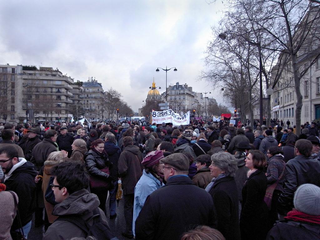 Manifestation des universités