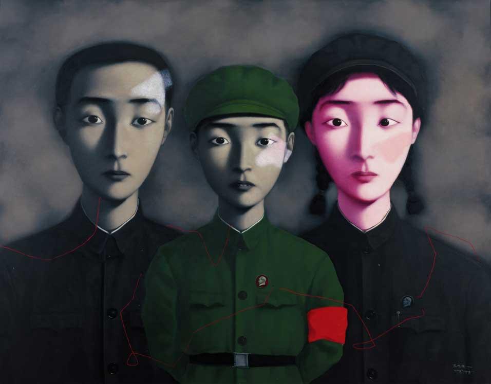 zhang-xiaogang-bloodline-1995