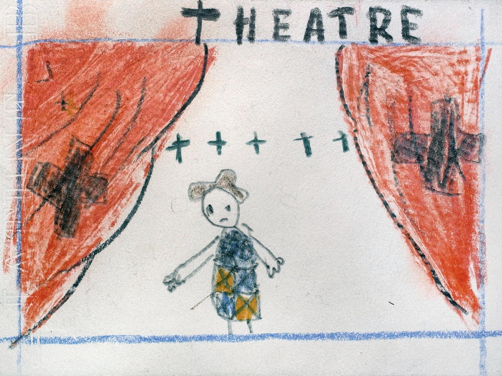 dessin theatre