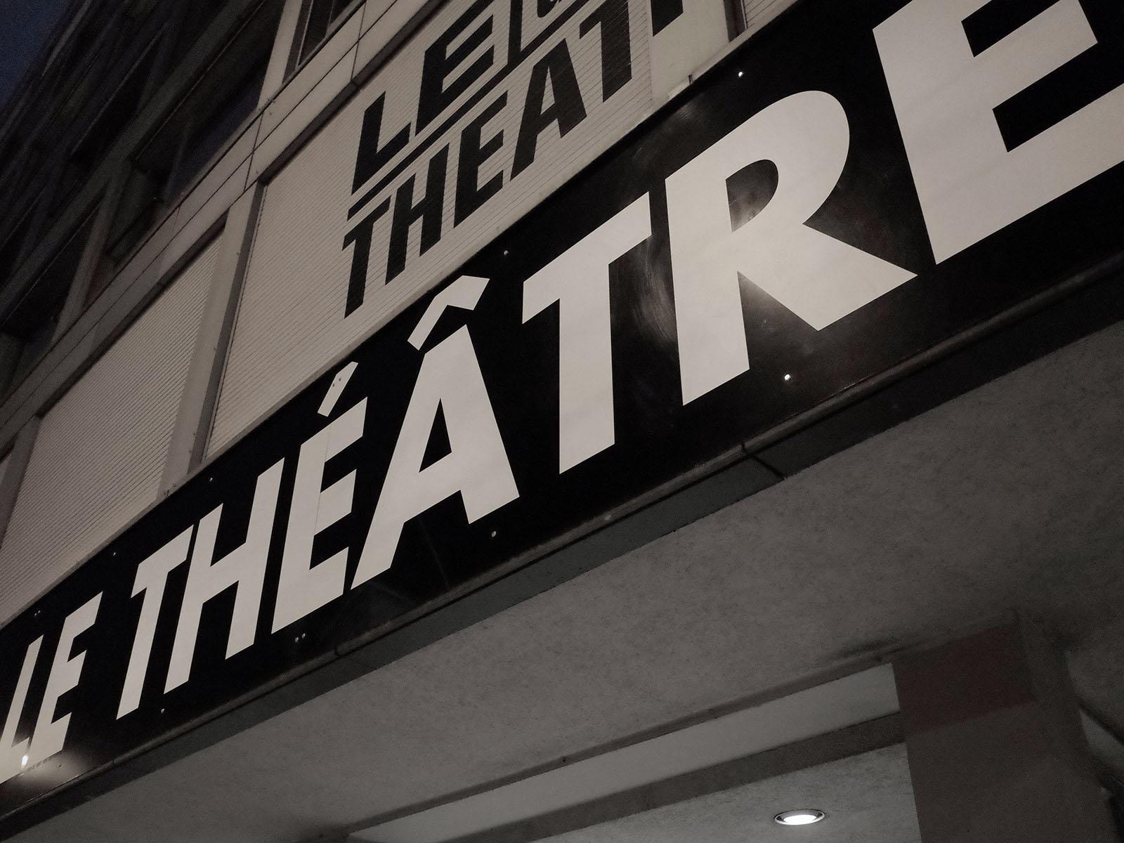 le theatre enseigne