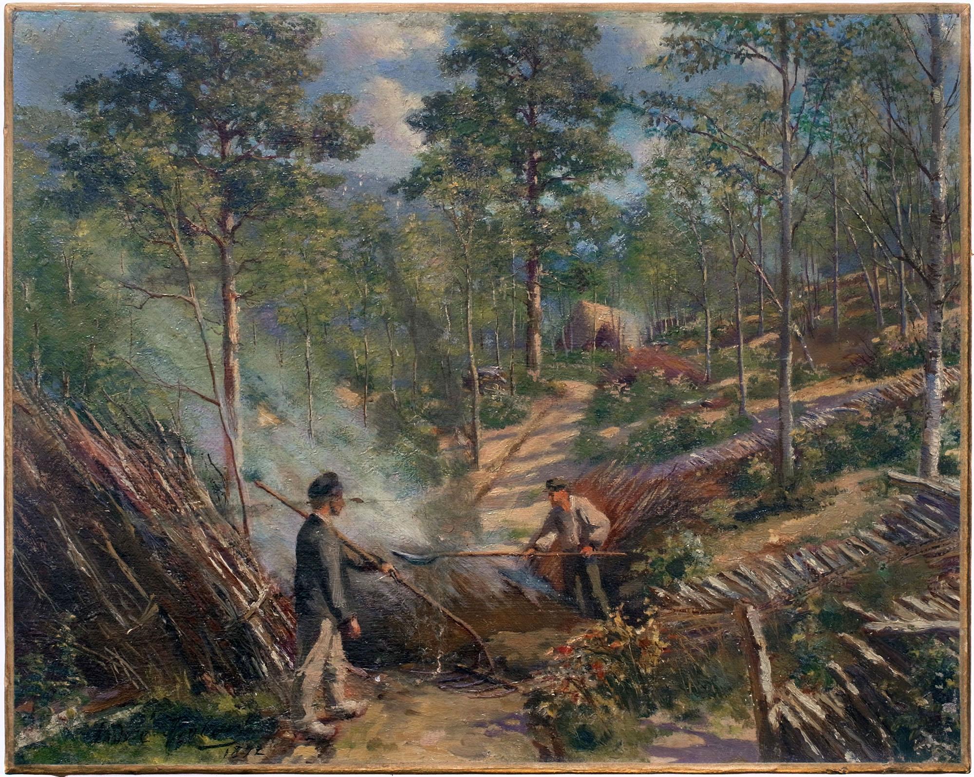 les charbonniers 1892