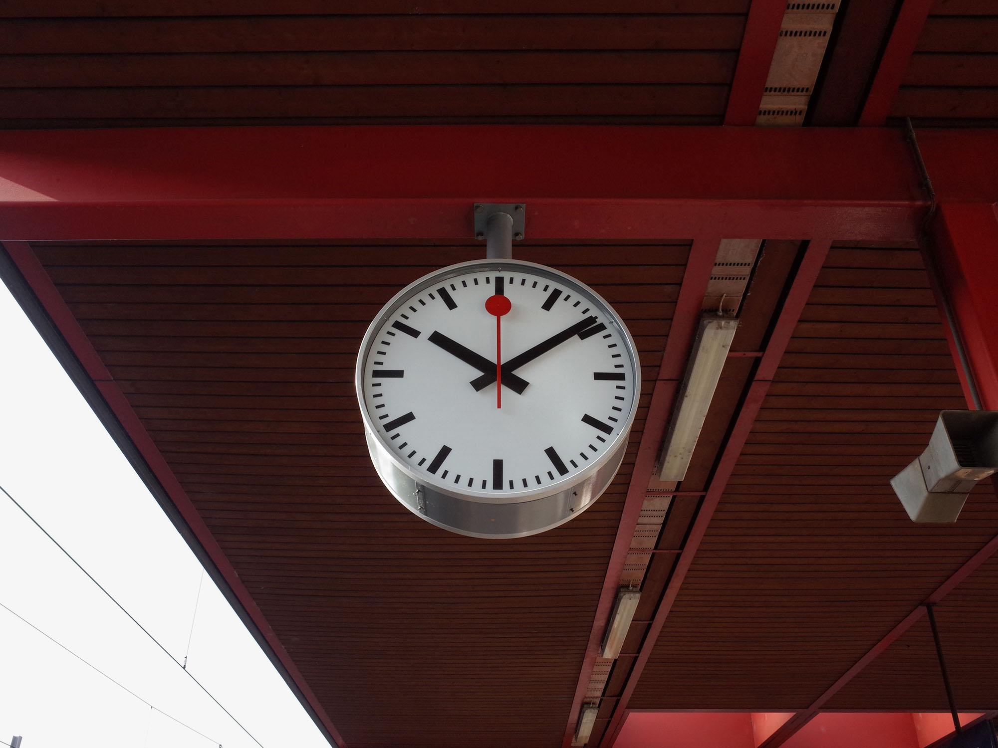 horloge cornavin