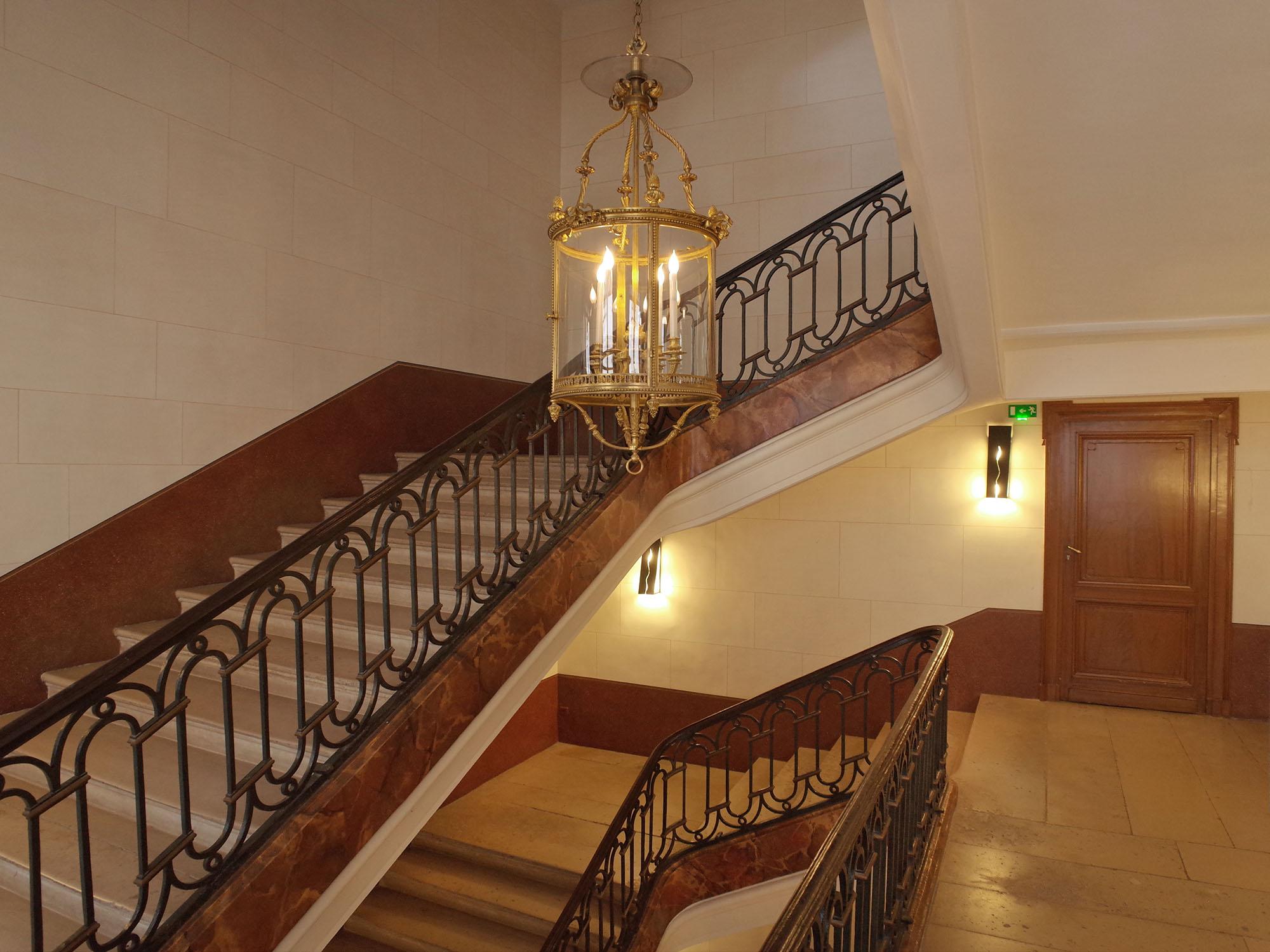 ministere culture escalier