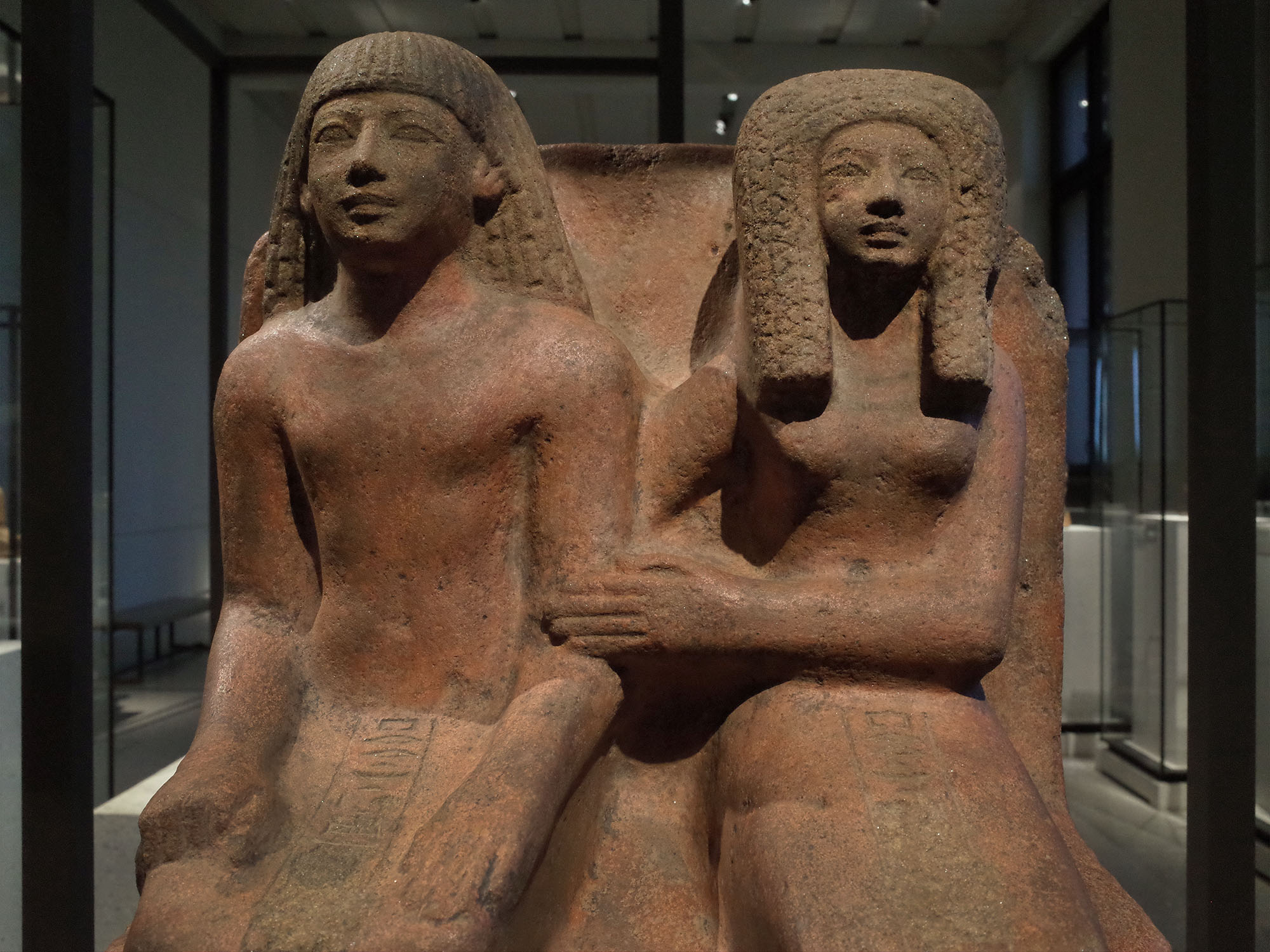 neues museum couple egypte 2015