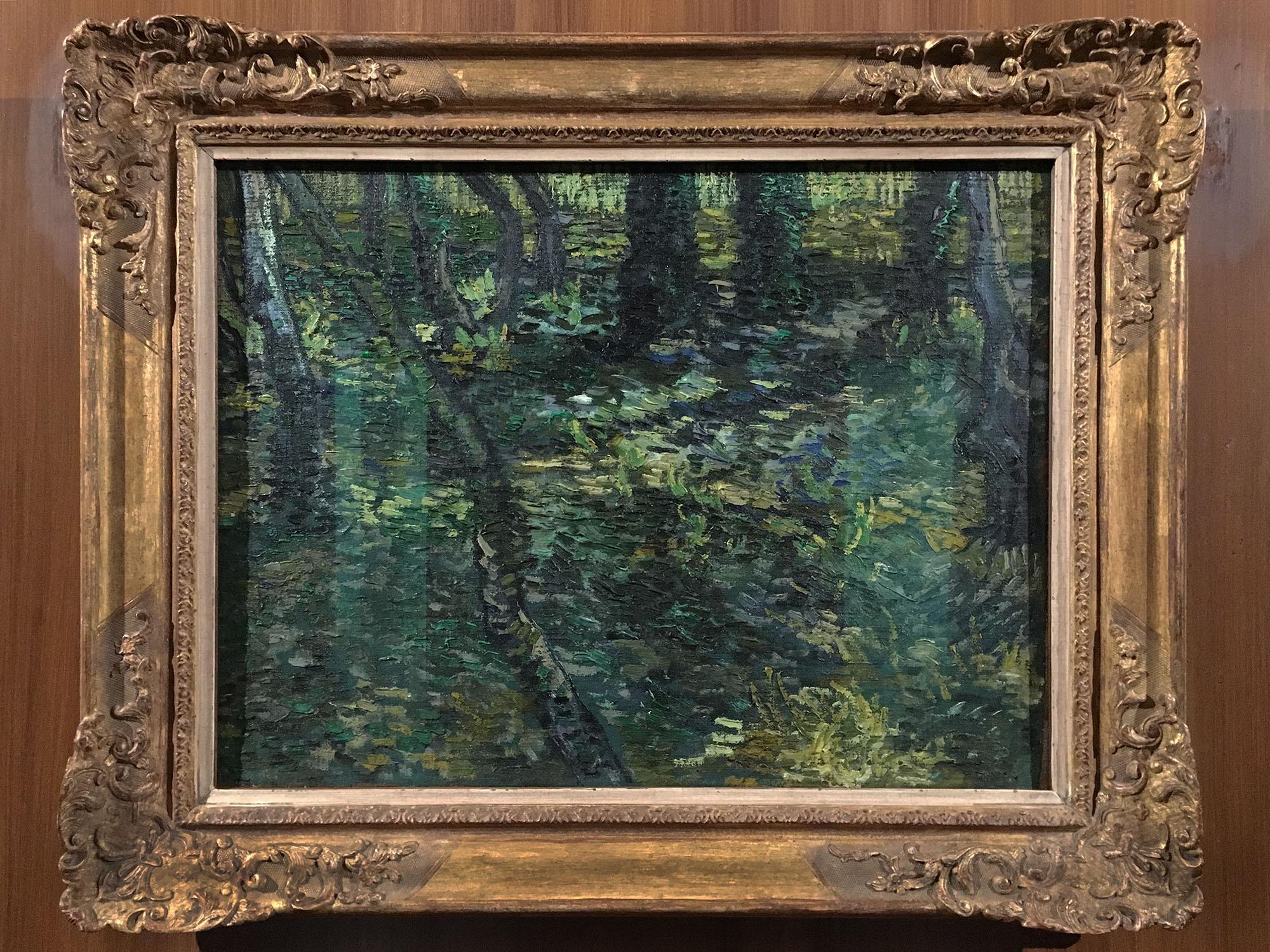 Van Gogh Sous bois-2016